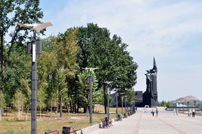 """Озвучивание сквера ветеранов при монументе """"Твоим освободителям, Донбасс"""""""
