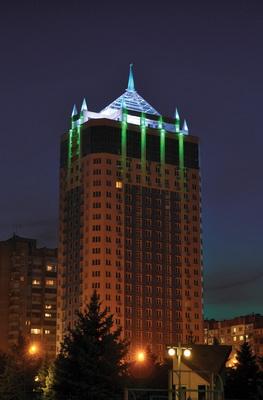 """Архитектурное освещение жилого комплекса """"Панорамный"""""""