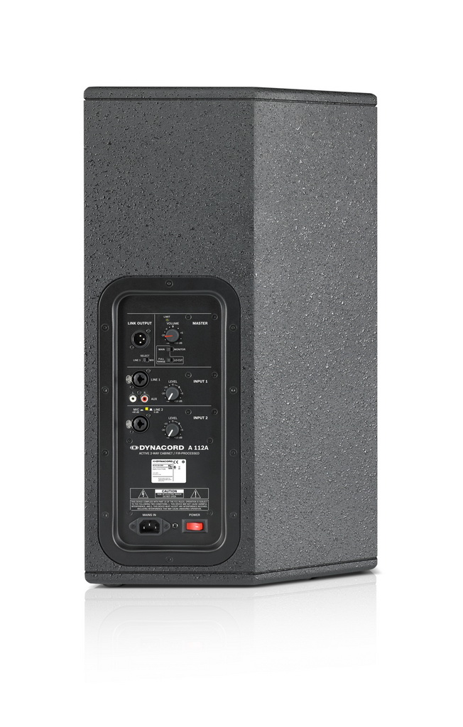 Активный кабинет новой акустической серии DYNACORD A-Line
