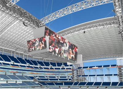 Стадион Dallas Cowboys в Арлингтоне
