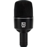 Динамический микрофон ND68 предназначен для работы с бочкой и требует минимальных настроек эквалайзера.