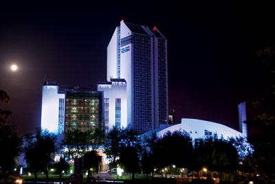 """Архитектурное освещение гостиничного комплекса """"Виктория"""""""
