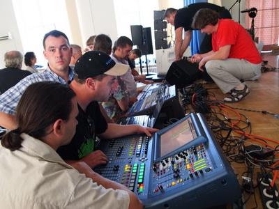 """Компания """"КОРТМИ"""" на семинаре Союза звукорежиссеров Украины - консоли Midas всегда привлекают внимание"""