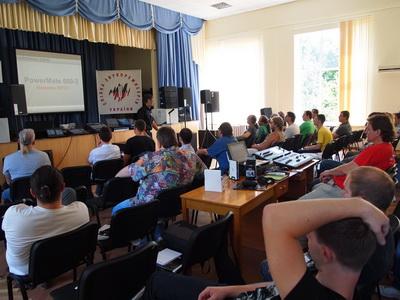 """Компания """"КОРТМИ"""" на семинаре Союза звукорежиссеров Украины"""