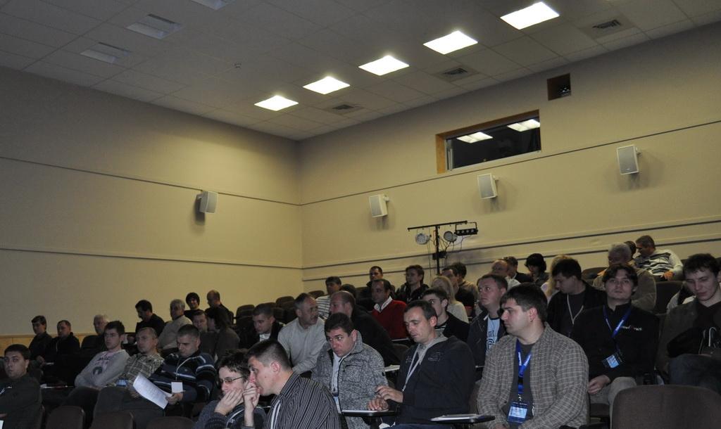Участники семинара компаний КОРТМИ и SoundHouse PRO 2010
