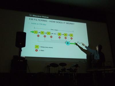 Петер Хальштайн объясняет суть  FIR-фильтров