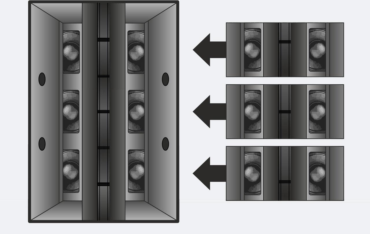 Концепция NOVA FUSION объединяет 6 типов кабинетов в одном