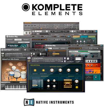 В комплекте с контроллером Carbon 49 поставляется программа Komplete Elements с большим выбором звуков, эффектов и инструментов студийного качества для написания музыки, аранжировки и музицирования.