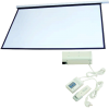 Motor projection screen