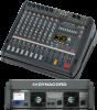 PM600-3 самый популярный компактный микшер с усилителем 2х1000 Вт (!!!), для музыкантов и инсталляций